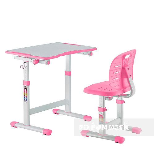 Omino Pink - Biurko z krzesełkiem dla dzieci