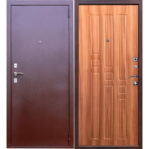 Металлическая сейф дверь Гарда 8мм рустикальный дуб