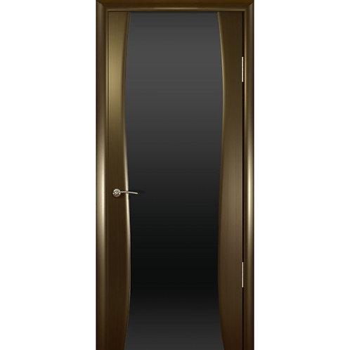 Межкомнатная дверь Буревестник 2 ДО черное