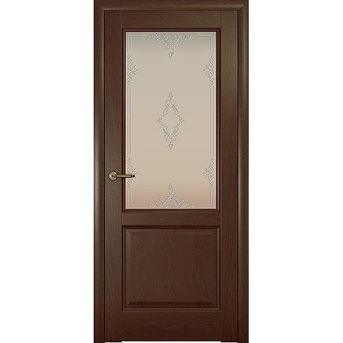 Межкомнатная дверь Парма ДО белый ажур