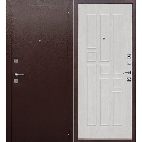 Металлическая сейф дверь Гарда 8мм белый ясень