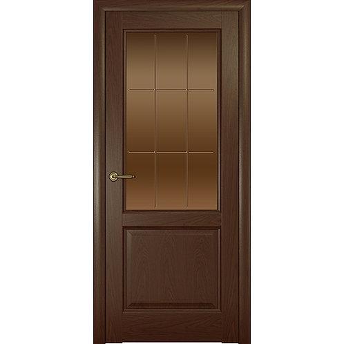 Межкомнатная дверь Парма ДО тон решетка