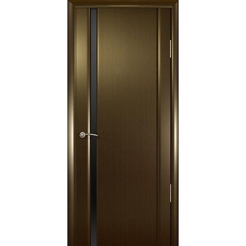 Межкомнатная дверь Шторм 1 ДО черное