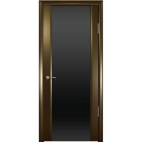 Межкомнатная дверь Шторм 3 ДО черное