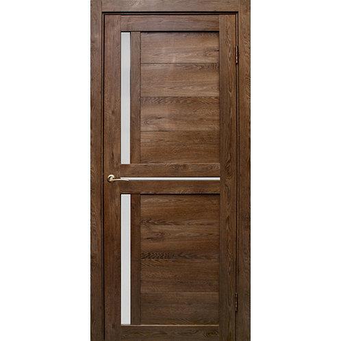 Межкомнатная дверь Медиана матовое стекло