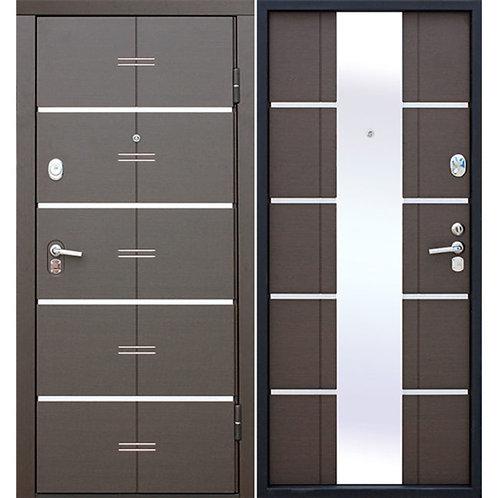 Металлическая сейф дверь Alta Tech венге