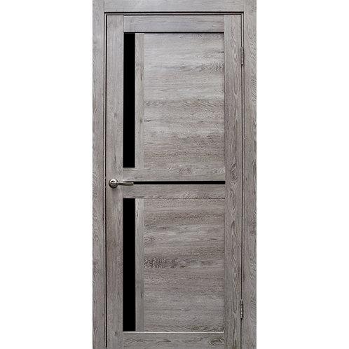 Межкомнатная дверь Медиана Black лакобель
