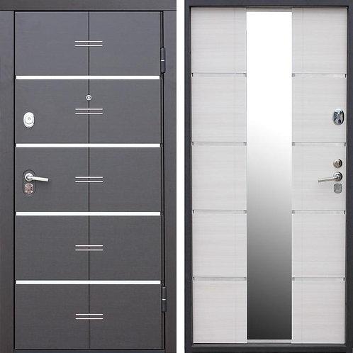 Металлическая сейф дверь Alta Tech Белый ясень