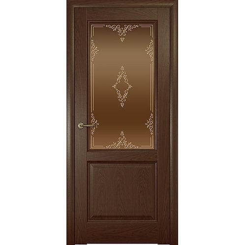 Межкомнатная дверь Парма ДО тон ажур