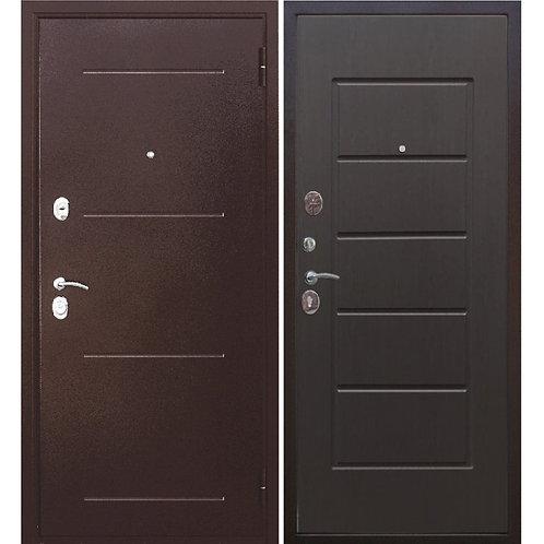Металлическая сейф дверь Гарда 7,5 венге