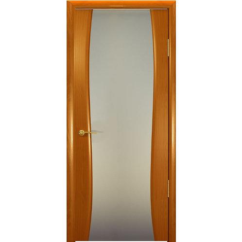Межкомнатная дверь Буревестник 2 ДО белое