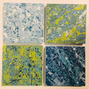 Four Pieces from Abstract Series #11