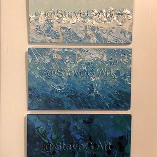 Sea and Sky (Triptych)