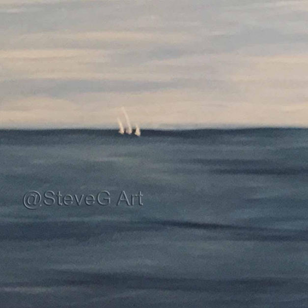 Sailboats in the Distance