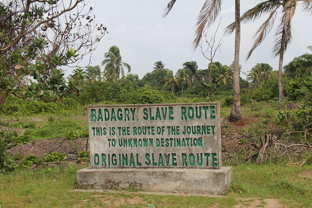 Place in Badagry where Nigerians traded their brothers for coveted European items like umbrellas and mirrors