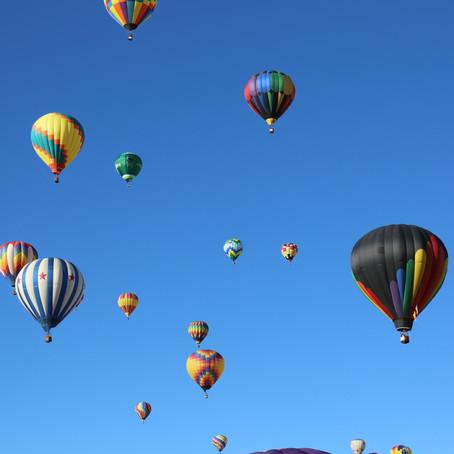 Balloon Fiesta with no Balloons?
