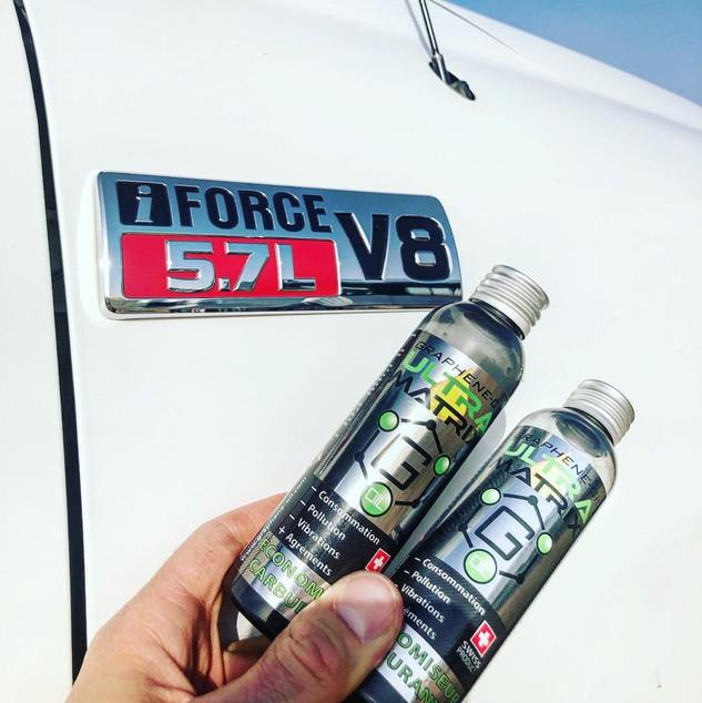 2 bouteilles pour le V8?