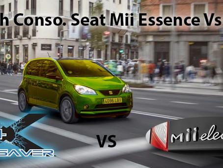 Seat Mii: Peut-on faire autant de km en essence qu'en électrique avec 10€?
