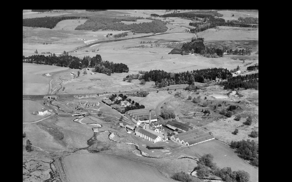 Tomatin Distillery 1950