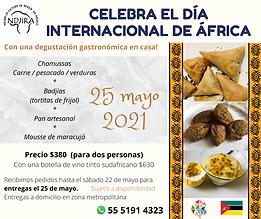 celebra el día internacional de áfrica (