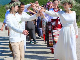 Наша необычная свадьба. Часть 5. Обряды объединения.