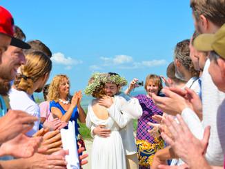 Наша необычная свадьба. Часть 4. Испытания молодых.