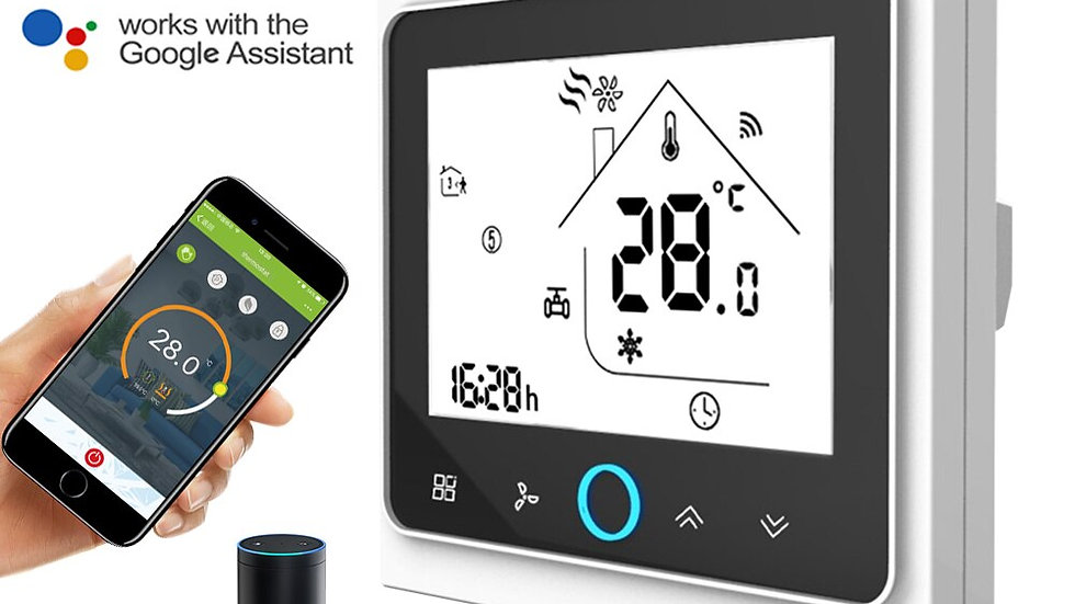WiFi Smart Thermostat  Central Heating and Cooling