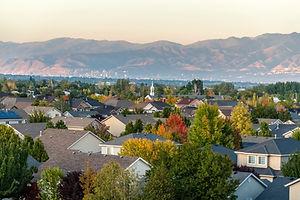 Rooftop view of a suburb of Salt Lake City, Utah.jpg