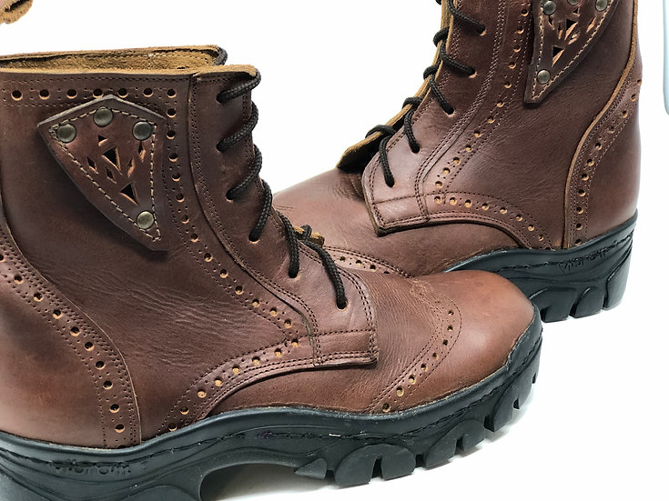Women's winter sole size 8 brown stoneless Handmade For Life