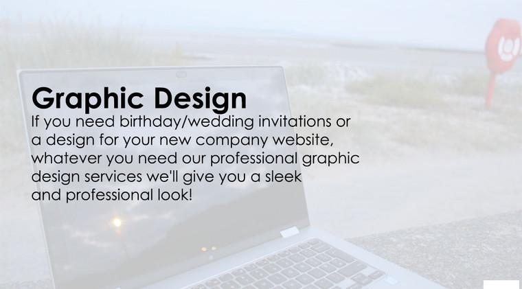 Graphic Design Service Advertisement