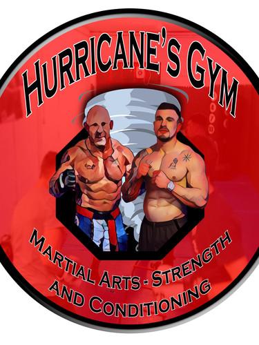 Hurricane's Gym Logo