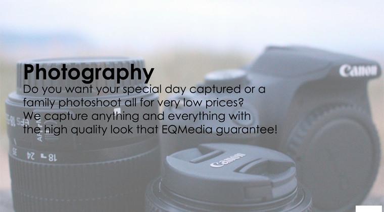 Photography Service Advertisement