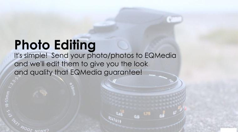 Photo Editing Service Advertisement