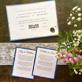 Vow cards and wedding certificate.jpg
