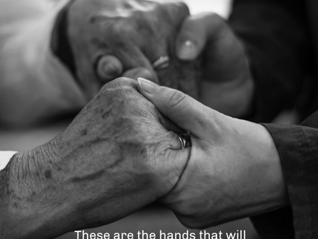 A Blessing of Hands - a simple wedding ritual of love and connection