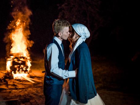 Ten creative ritual ideas for couples who don't want a soppy wedding...