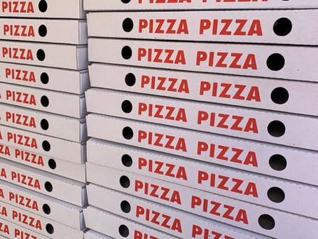 Gelungener Pizzaevent