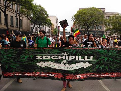 Marcha por la legalización de la marihauna