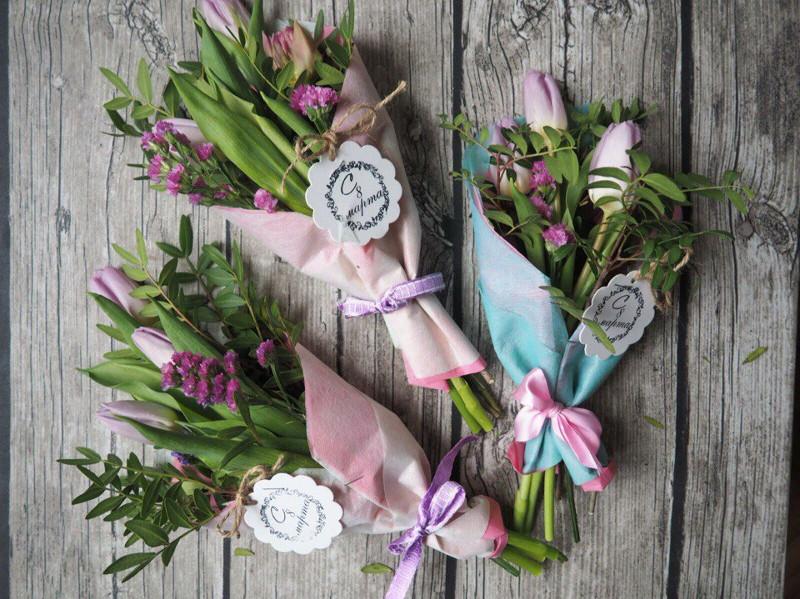 цветочные букеты к 8 марта