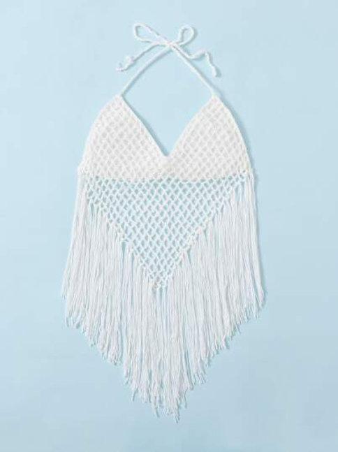 In Love Crochet Crop