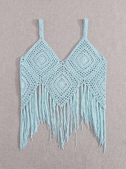 Pure Waves Crochet Tank