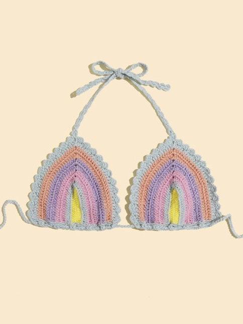 Beach Bum Crochet Bralette