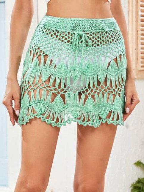 Palma Crochet Skirt