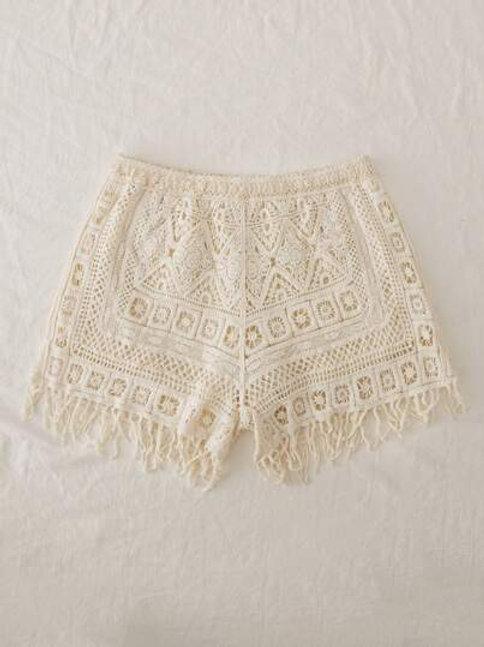 Tahoe Crochet Shorts