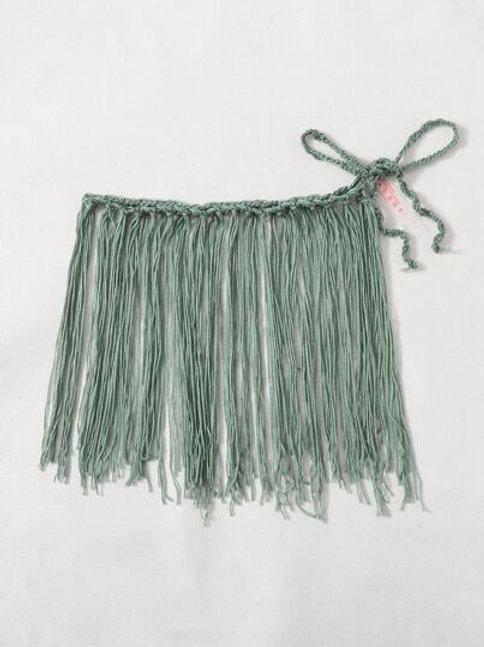Just Vibe Crochet Skirt