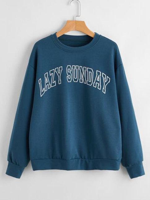 Lazy Sunday Sweatshirt
