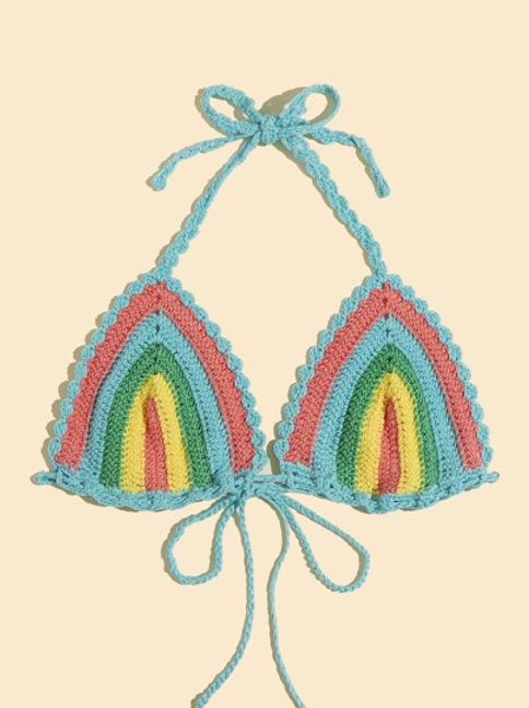 Summer Mode Crochet Bralette