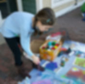 Hannah Painting Front of School.jpg