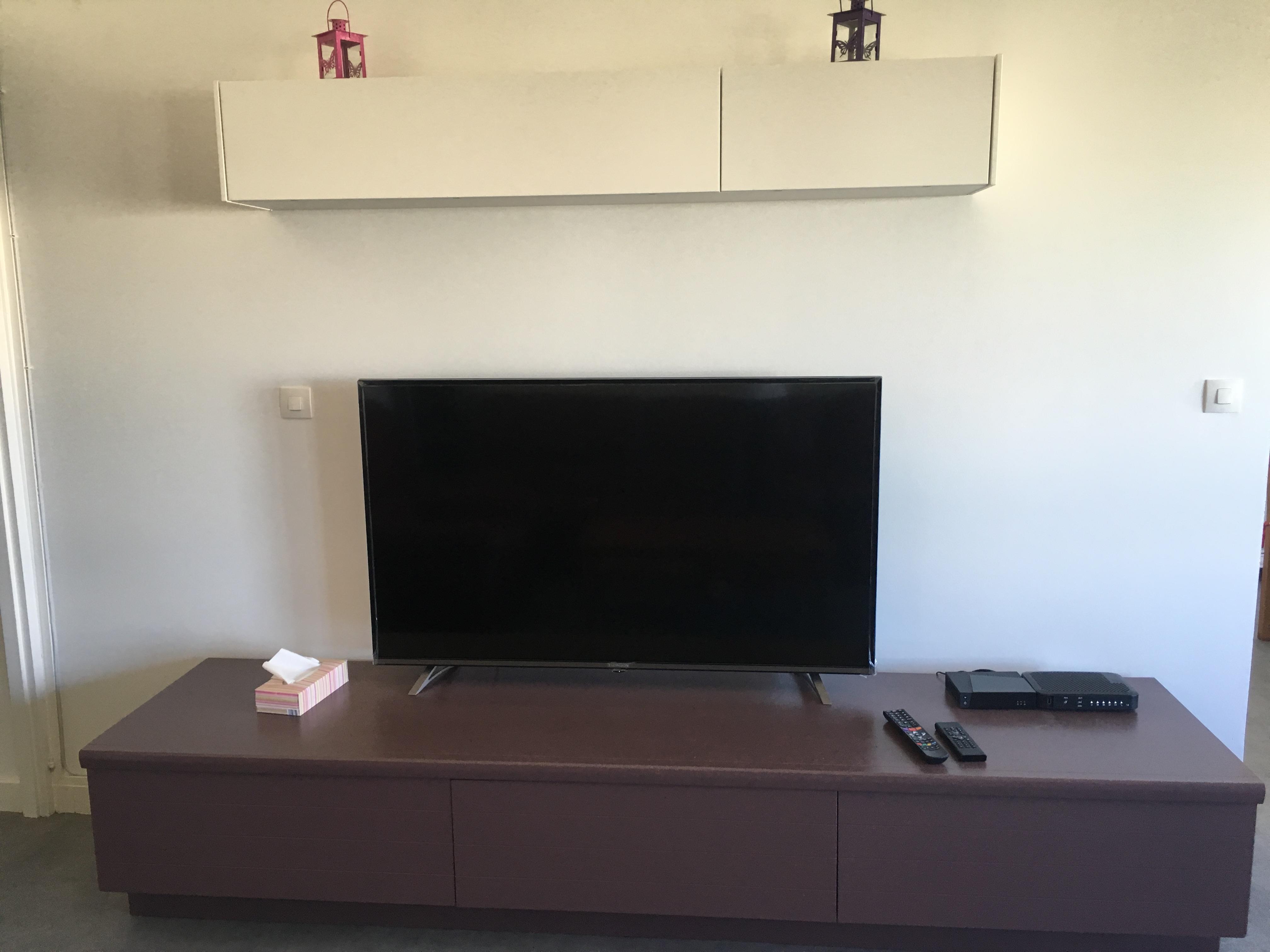 Télévision grand écran