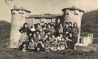 Pensionnat, Ardèche, années 60